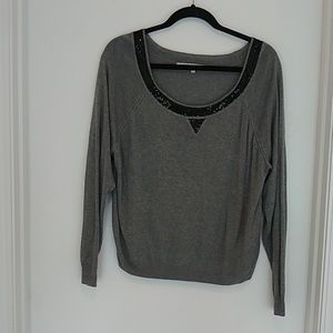 Rachel Rachel Roy grey sweater